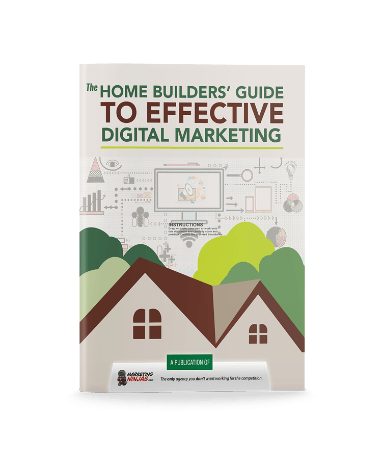 The Home Builder's Guide to Effective Digital Marketing eBook Cover Image