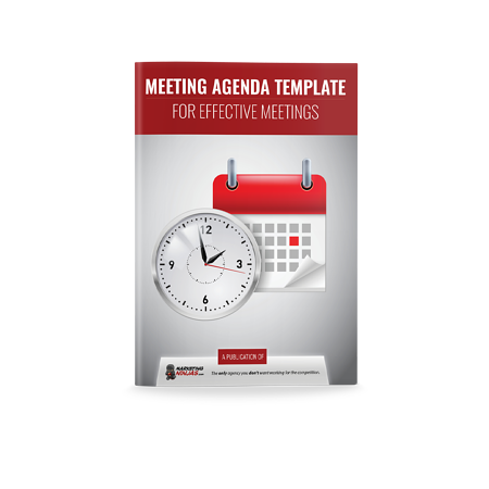 meeting agenda template cover image