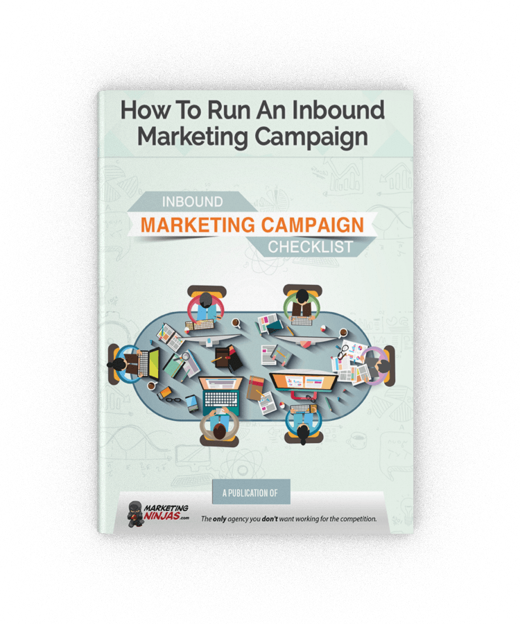 How to Run an Inbound Marketing Campaign eBook Cover Image