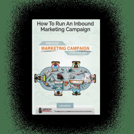 inbound marketing campaign checklist cover image
