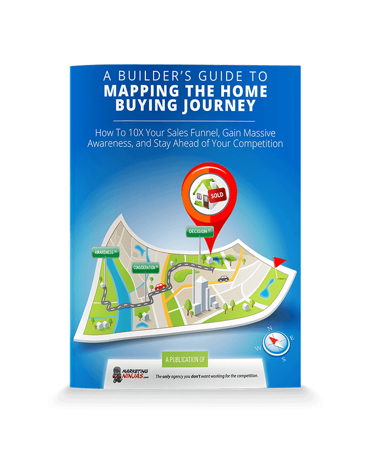 A Builder's Guide to Mapping the Home Buying Journey eBook Cover Image