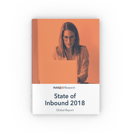 The State of Inbound 2018 Report Cover Image
