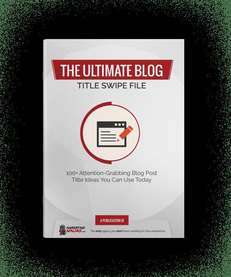 ultimate blog title swipe file cover image