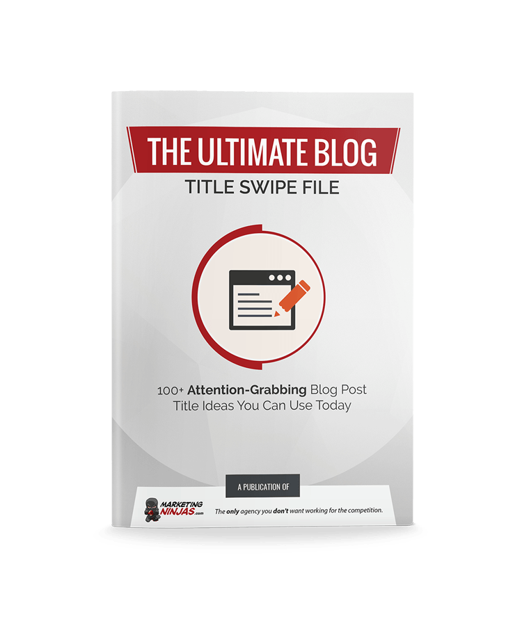 The Ultimate Blog Title Swipe File eBook Cover Image