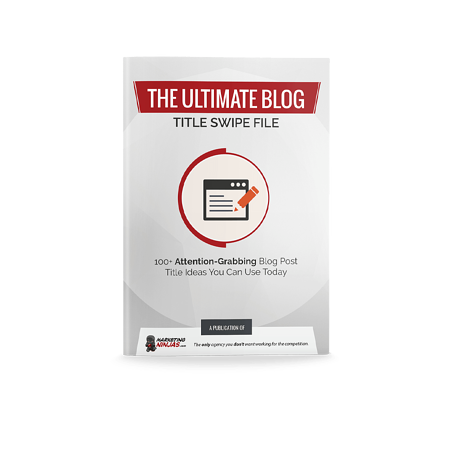 The Ultimate Blog Title Swipe File Cover Image